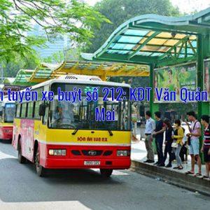Lộ trình tuyến xe buýt số 212: KĐT Văn Quán – Xuân Mai