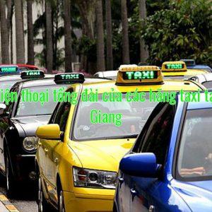 Số điện thoại tổng đài của các hãng taxi tại An Giang