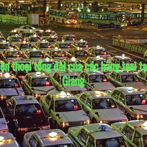 Số điện thoại tổng đài của các hãng taxi tại Bắc Giang