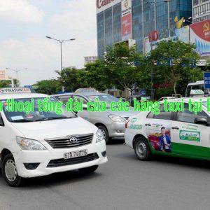 Số điện thoại tổng đài của các hãng taxi tại Bến Tre
