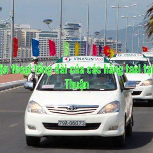 Số điện thoại tổng đài của các hãng taxi tại Bình Thuận