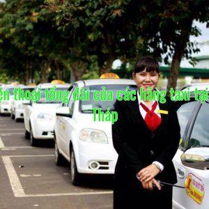 Số điện thoại tổng đài của các hãng taxi tại Đồng Tháp