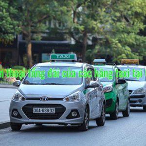 Số điện thoại tổng đài của các hãng taxi tại Gia Lai