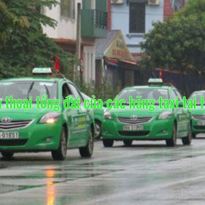 Số điện thoại tổng đài của các hãng taxi tại Hà Nam