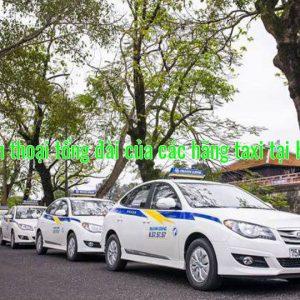 Số điện thoại tổng đài của các hãng taxi tại Hà Tĩnh