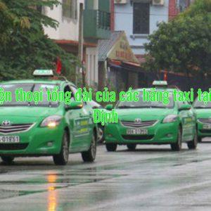 Số điện thoại tổng đài của các hãng taxi tại Nam Định