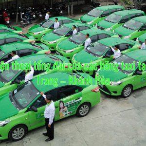 Số điện thoại tổng đài của các hãng taxi tại Nha Trang – Khánh Hòa
