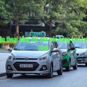 Số điện thoại tổng đài của các hãng taxi tại Ninh Bình