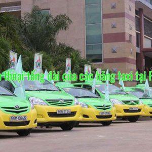 Số điện thoại tổng đài của các hãng taxi tại Phú Thọ
