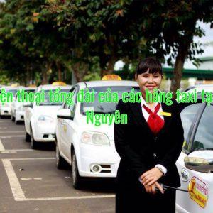 Số điện thoại tổng đài của các hãng taxi tại Thái Nguyên