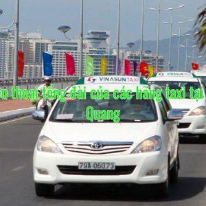 Số điện thoại tổng đài của các hãng taxi tại Tuyên Quang