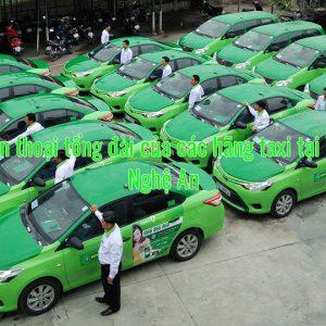 Số điện thoại tổng đài của các hãng taxi tại Vinh – Nghệ An