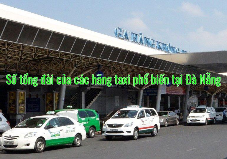 Số tổng đài của các hãng taxi phổ biến tại Đà Nẵng