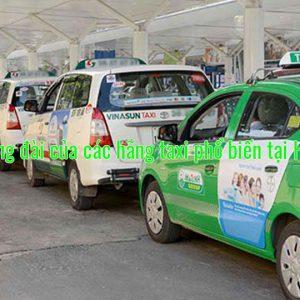 Số tổng đài của các hãng taxi phổ biến tại Hà Nội