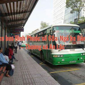 Tuyến xe bus Bình Phước số 68a: Ngã ba Bằng Lăng – Thương xá An Lộc